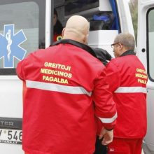 Sunkiai sergantis vyras su apirusiu veidu paguldytas į Plungės ligoninę
