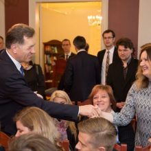 Norvegijoje A. Butkevičius susitiko su lietuvių bendruomene
