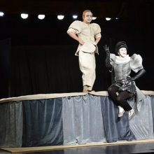 """Šiaulių dramos teatre – G. Rodario """"Tegyvuoja Lambertas"""" premjera"""