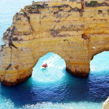 Algarvė – rojus Portugalijos pakrantėje