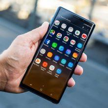 """""""Samsung"""" pristatė naują """"Galaxy Note9"""": telefoną trokštantiems to, kas geriausia"""