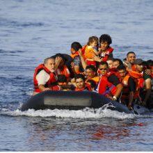 Italiją pasiekė migrantų sausakimša jachta