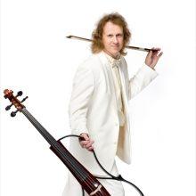 Magiškas violončelininkas atvyksta koncertuoti su Ąžuolynu