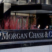 """""""JP Morgan Chase"""" vadovas: vyriausybės uždarymas daro žalą JAV ekonomikai"""