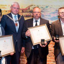 Uostamiestyje apdovanoti Klaipėdos kultūros magistrai