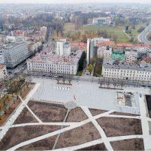 Architekto vizija: 45 m obeliskas – Aukų gatvėje, o ne Lukiškių aikštėje