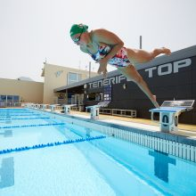 R. Meilutytę mokytis plaukti pastūmėjo močiutė: ji norėjo, kad būčiau saugi