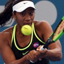 S. Williams įkvėpta 16-metė įsirašė į teniso istoriją