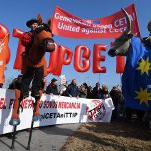 Europos Parlamentas pritarė laisvosios prekybos sutarčiai su Kanada