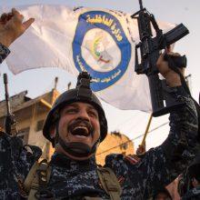 Irakas švenčia: džihadistų viešpatavimas Mosule – baigtas
