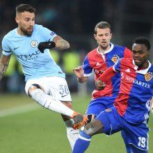 """Čempionų lygos aštuntfinalyje – užtikrinta """"Manchester City"""" pergalė"""