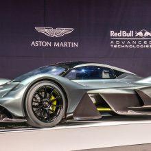 """""""Aston Martin"""" ir """"Formulės 1"""" komanda sukūrė superautomobilį"""