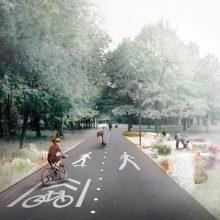 Miesto parkai virsta gyventojų traukos centrais