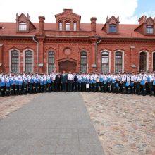 Policijos mokyklą baigė 103 kursantai