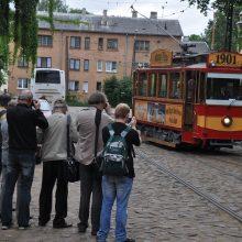 Iš Amerikos ir Vokietijos – pasivažinėti Vilniaus ir Kauno troleibusais