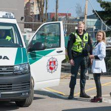 Kalniečių poliklinikoje sprogmenų nerasta, sulaikytas įtariamasis