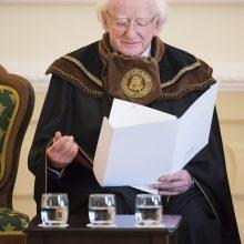 Airijos prezidentas tapo VDU garbės daktaru