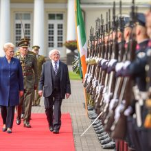 Airijos prezidentas: lietuviai labai laukiami