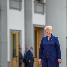 D. Grybauskaitė kartvelų kalba sveikino Sakartvelo žmones