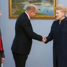 D. Grybauskaitė: regiono saugumas – bendras Lietuvos ir Švedijos interesas