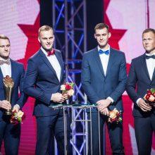 Geriausių šalies sportininkų rinkimuose – A. Gudžiaus ir A. Palšytės triumfas
