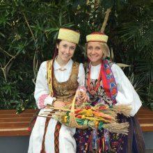 Amerikos lietuvė M. Rupšaitė: esame Lietuvos patriotai
