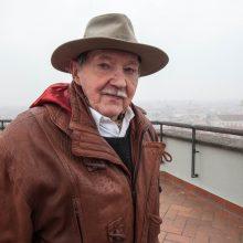 Vadas: R.Šimanskas 1991 m. sausį vadovavo bokšto ir jo vėliavos gynėjams.