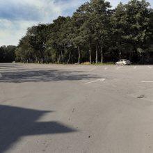Pajūryje pamirštas automobilis dingo