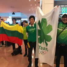 Lietuvos olimpiečius japonai pribloškė ne vien svetingumu