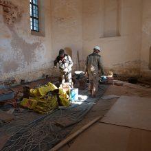 Archeologų laimikis Zapyškyje – mūriniai pamatai