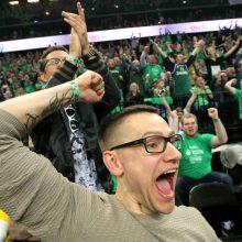 Žalia ir balta euforija nuo Kauno iki Belgrado