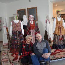 Praskynusi kelią profesionaliai lietuvių tekstilei: mano siela įstrigusi Lietuvoje