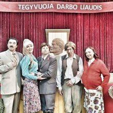 """Serialo """"Bruto ir Neto 3"""" aktoriai prakalbo turkiškai ir pavaizdavo tarybinius laikus"""