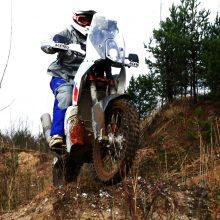 Motociklas: lenktynininkas turi geriausią KTM motociklą, kokį šiandien įmanoma turėti, ir jis bus pakankamai konkurencingas Dakare.