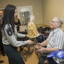 Klaipėdos pareigūnai neliko abejingi senjoro bėdai