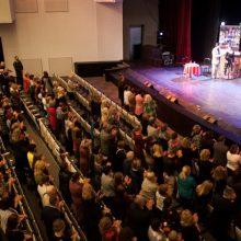 Laikinoji Muzikinio teatro erdvė skambesiu lenkia ir Nacionalinį teatrą