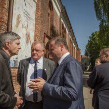 Kaune apsilankęs S. Skvernelis: popiežiaus vizitui ruošiamasi tinkamai