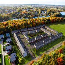 Vilniuje statys daugiau angliškų būstų