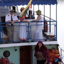 Laivas vėl plukdys į Kulautuvą