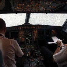 Ekstremaliomis sąlygomis lėktuvą nutupdžiusiam ekipažui – garsūs plojimai