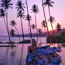 Modelio R. Labutytės fotosesija Šri Lankoje galėjo baigtis tragedija