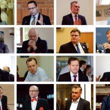 Prezidento rinkimų bliuzas: kandidatų mozaika