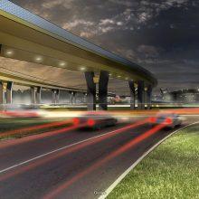 Naujas estakados Klaipėdoje projektas – labiau atitinkantis ekonomines realijas
