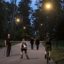 Pagaliau nušvito ilgus metus tamsoje skendėję Vingio parko takai