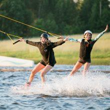 Pats vasariškiausias sportas – moterų rankose