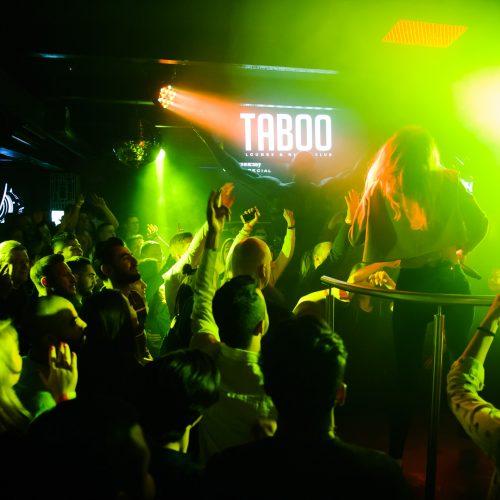 """Karštas savaitgalis """"Taboo"""" klube  © Ievos Jonelytės nuotr."""