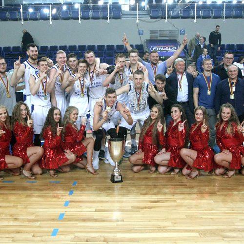 """NKL finalas: """"Neptūnas-Akv."""" – """"Žalgiris-2"""" 68:57  © Evaldo Šemioto nuotr."""