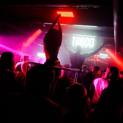 "Linksmybės ""Taboo"" klube  © Ievos Jonelytės nuotr."
