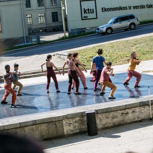 """""""Gallery Weekend Kaunas"""" žemėlapis"""