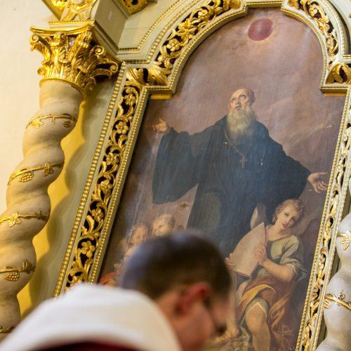 Pal. Teofiliaus relikvijų priėmimo iškilmė  © Vilmanto Raupelio nuotr.